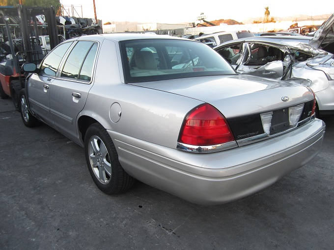 Crown Victoria Stock # AA0383